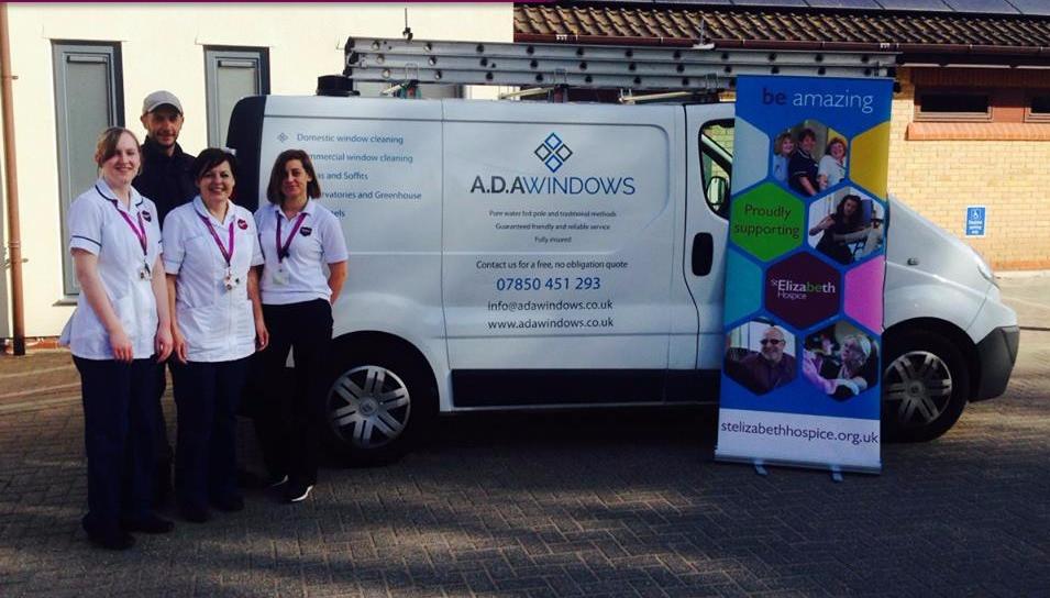 ADA Windows are supporting St Elizabeth Hospice