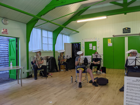 Bakewell Band Back Tooting Again
