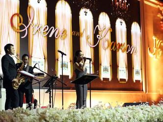 Irene 汪圓圓 & Karson 蔡加贊- Wedding Banquet at HKCEC Grand Hall