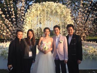 Irene汪圓圓& Karson蔡加贊- Wedding Ceremony atBeas River