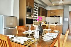 Apartment Kitchen & Dining Area