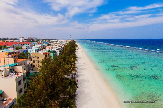 Hulhumale City & Beach