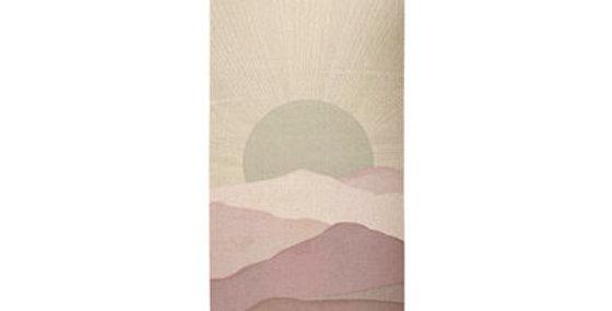 Pastel Wave Yoga Mat