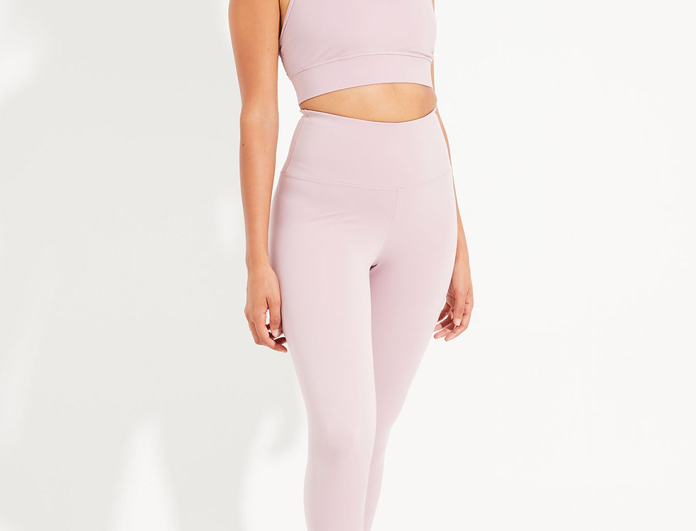 High Waisted Legging Dusty Mauve