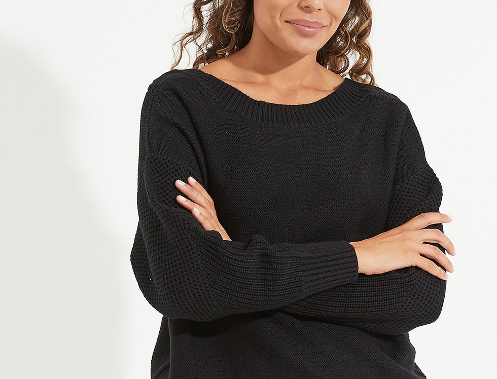 Eternity Cable Knit Sweat