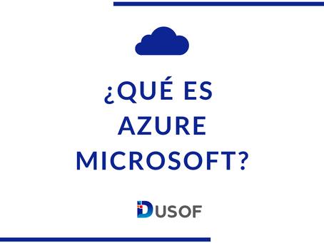 ¿Qué es Microsoft Azure?