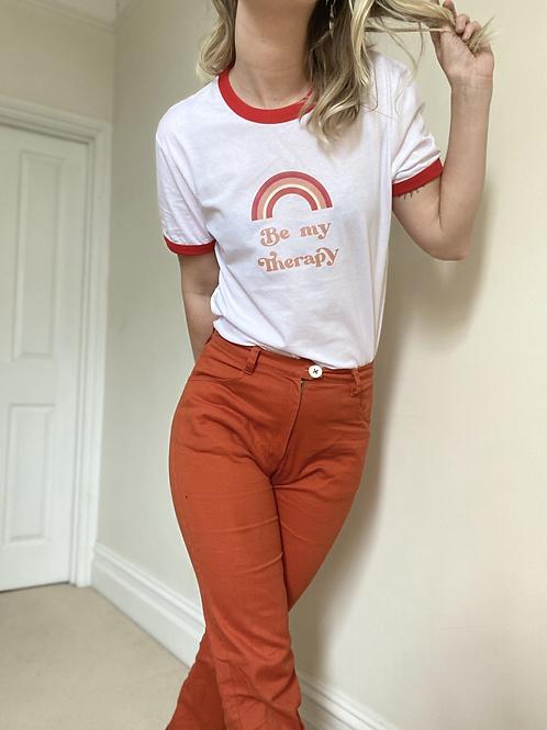 Lyric Ringer T-Shirt