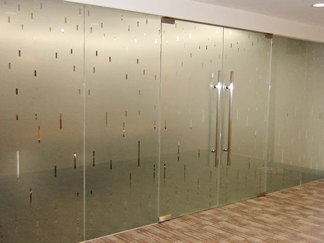 Want to Expand Business? Choose Etched And Frosted Glass