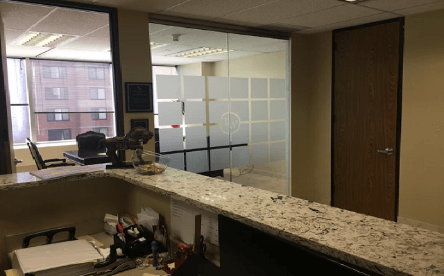 conference room glass