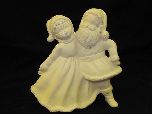 Dancing Mr. & Mrs. Santa