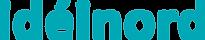 ideinord logo skrift RGB_0_167_181 CMYK_