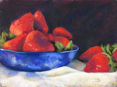 JUST A BOWL OF STRAWBERRIES