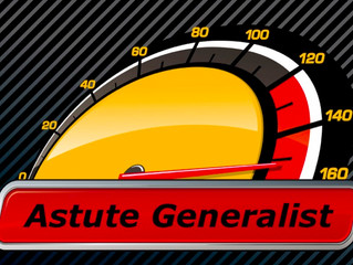 Effective Leader With Courage Quality #1: The Astute Generalist