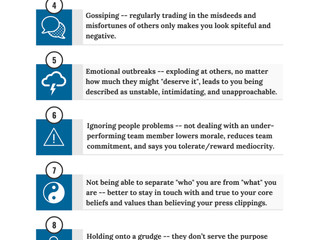 11 Habits Leaders With Courage Avoid  [Infographic]