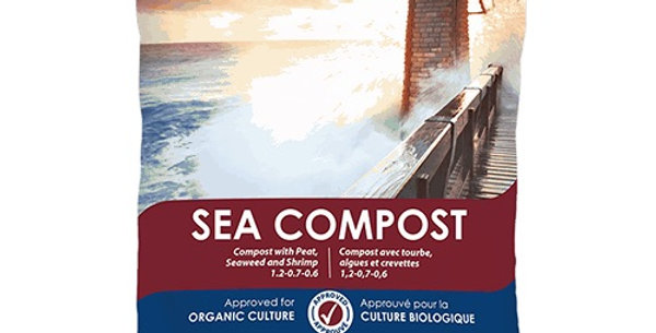 Organic Compost with Peat, Seaweed and Shrimp- 30L