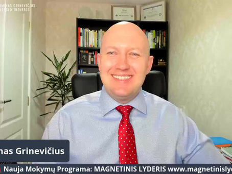 🚨🚨🚨Nauja Mokymų Programa: MAGNETINIS LYDERIS 🚨🚨🚨