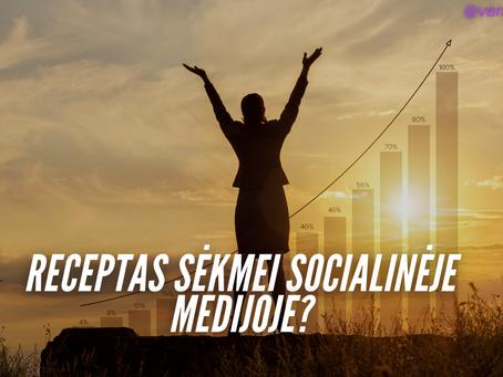 4 Kasdieniniai Veiksmai Sėkmei Socialinėje Medijoje