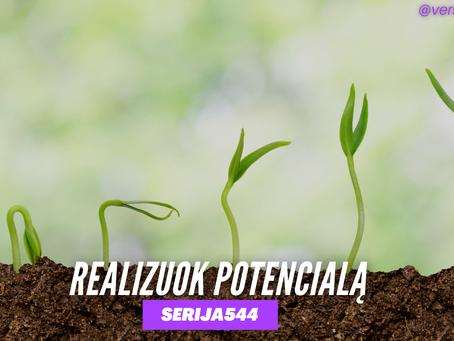 Serija #544 Nelaikyk sėklos, pasodink ją 🌱