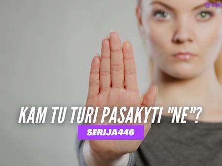 Serija #446 TAIP pradės kelionę, bet NE padės pasiekti tikslą ❤️⛔️👊