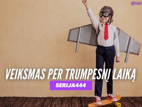 Serija #444 Kodėl PAGREITIS yra svarbus versle? 🚀