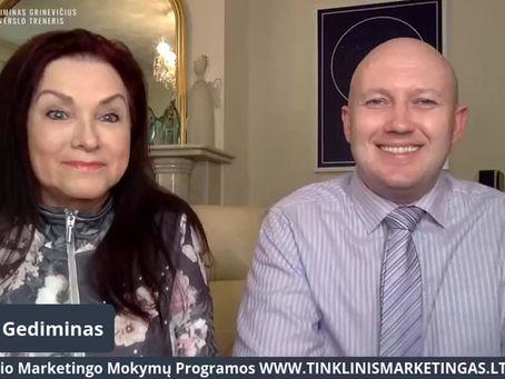 {PASYVIOS PAJAMOS} Mitas ar Realybė Tinklinio Marketingo Versle su Irena Oliver