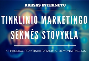 Tinklinio Marketingo Sekmes Stovykla.png
