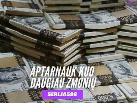 Serija #598 Greičiausias būdas uždirbti MILIJONĄ!