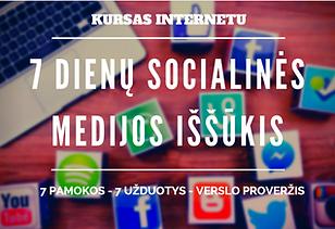 7 dienu socialines medijos issukis geras