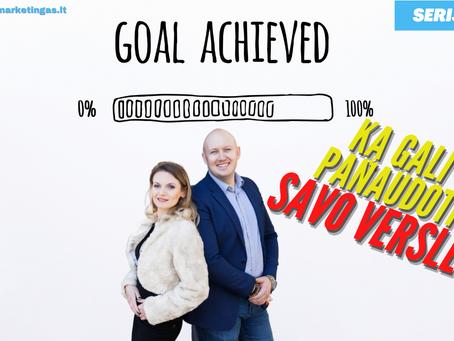 Serija #606 3 būdai PAGREITINTI progresą link tikslų 🔥