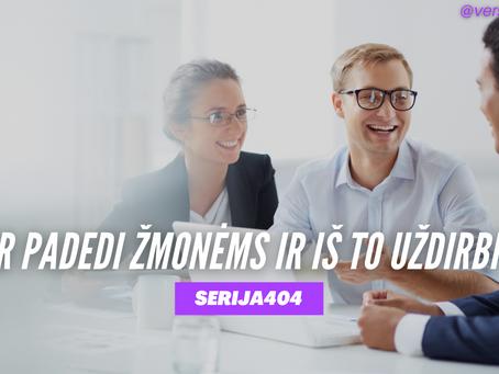 Serija #404 Kaip tapti sėkmingu versle? 2 klausimai! ⭐️