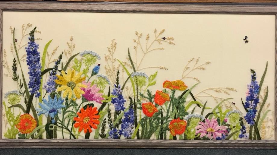 Wildflower Needle Art
