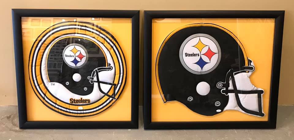 Steelers Shadow Boxes