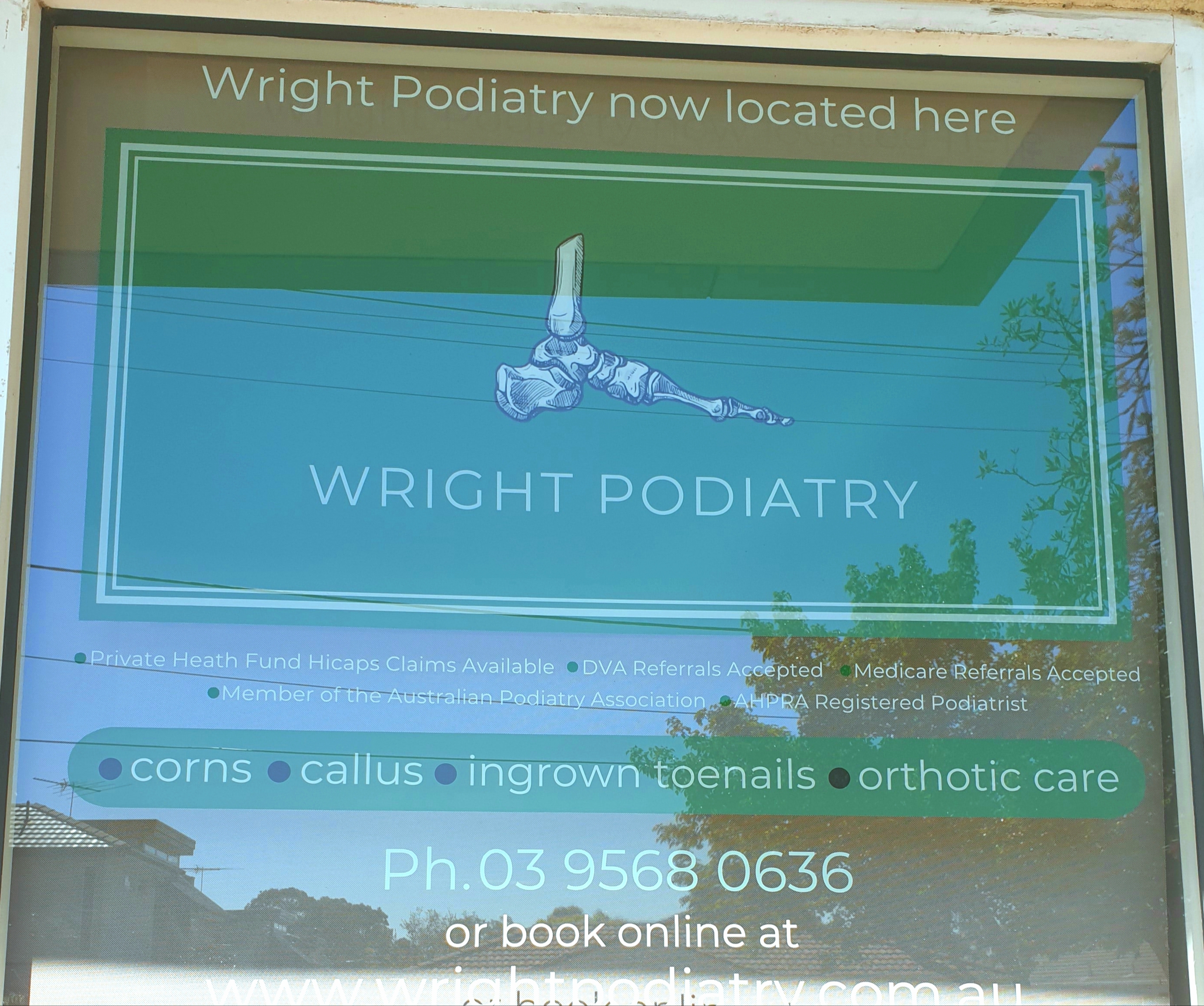Wright Podiatry Hughesdale
