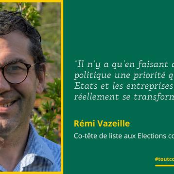Meet Rémi: L'écologie politique pour transformer la société