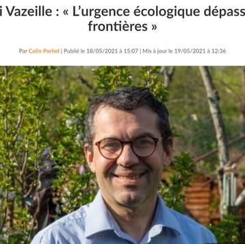 """Rémi: """"L'urgence écologique dépasse les frontières"""""""