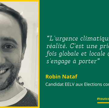 """Meet Robin: """"L'urgence climatique est une réalité"""""""