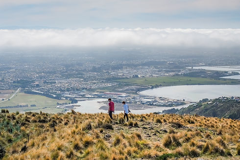 Aerial view of Christchurch cityscape from the gondola station on the Port Hills - New Zealand.jpg