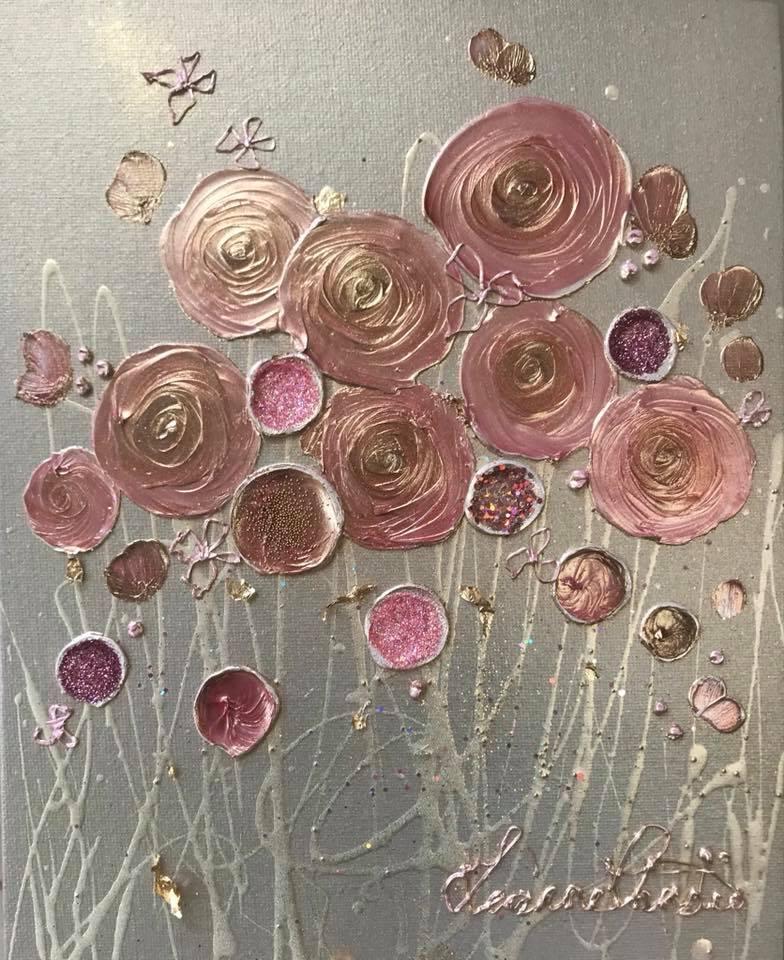 Rose Gold Cluster