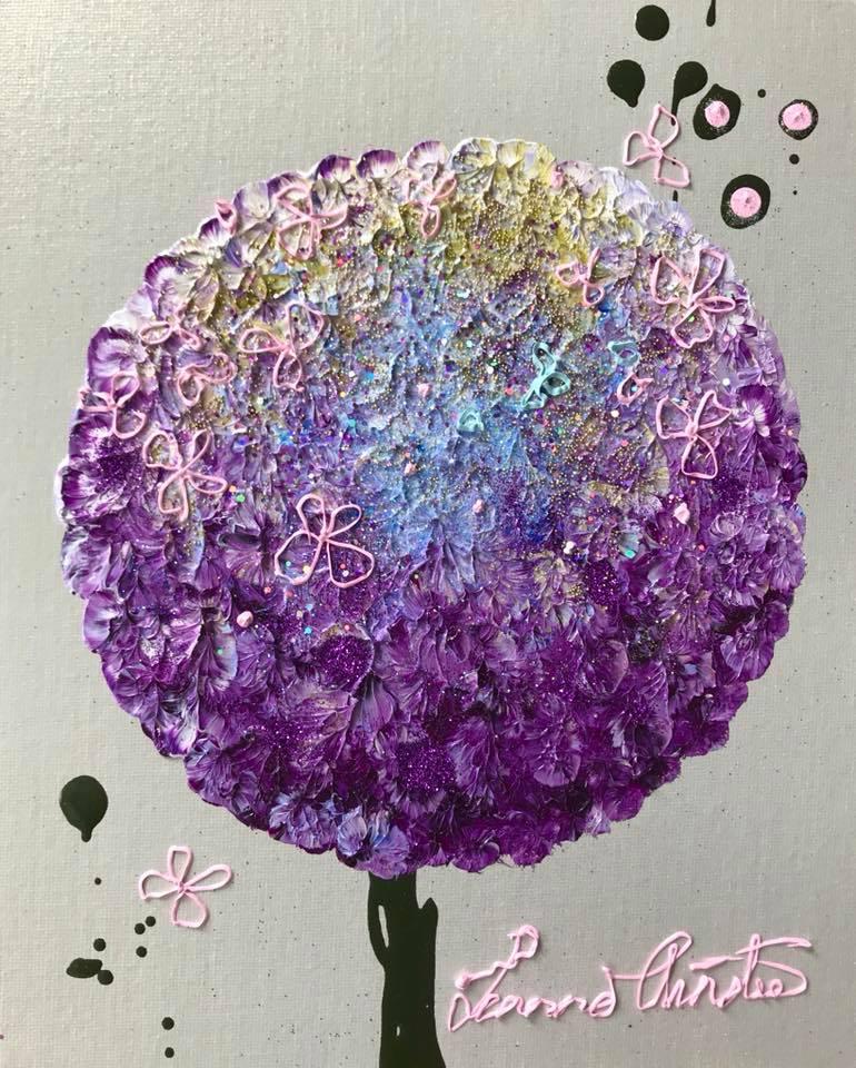 Violet Allium