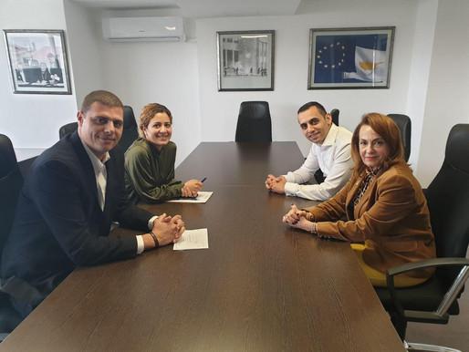 Συνάντηση με τον Σύνδεσμο Φωλιά (Παγκύπρια Συμμαχία σπανίων παθήσεων)