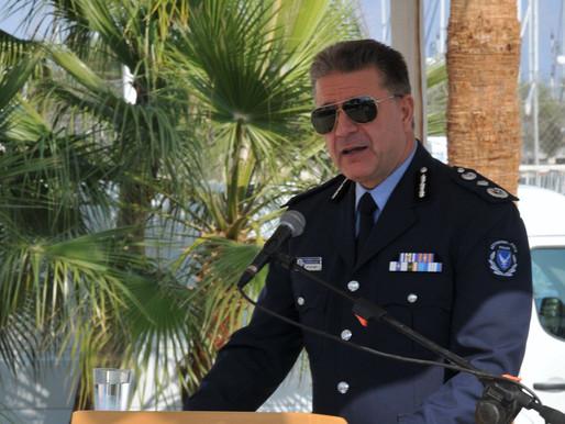 Παύση αρχηγού Αστυνομίας