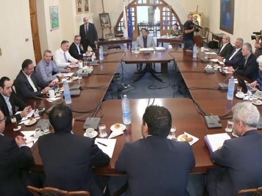 Κυπριακό - Σύγκληση Εθνικού Συμβουλίου