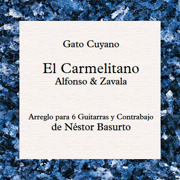 El Carmelitano. Arreglo para 6 Guitarras y Contrabajo