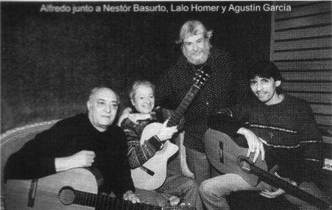 Con Alfedro,Agustin y Lalo (Bs. As.)