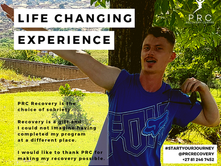 A life changing experience made possible with PRC Recovery