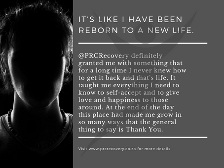 Every experience at PRC contributed to my road of recovery