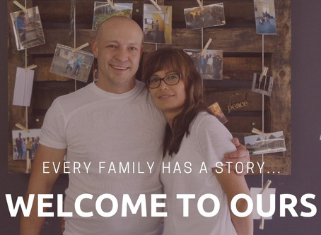 Every family has a story...welcome to ours