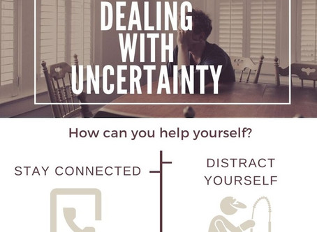 Dealing with uncertainty.