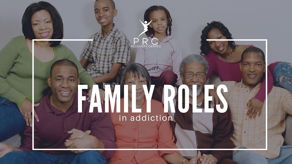 How the different roles within the family is affected through addiction.