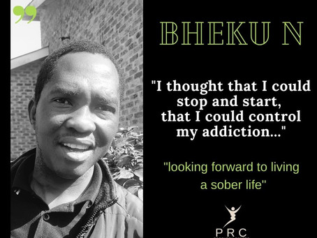 I am looking forward to living a sober life thanks to PRC